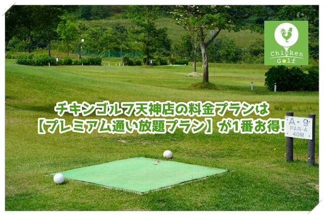 チキンゴルフ天神店の料金プラン