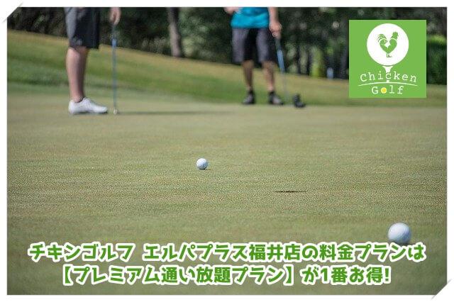 チキンゴルフ エルパプラス福井店の料金プラン